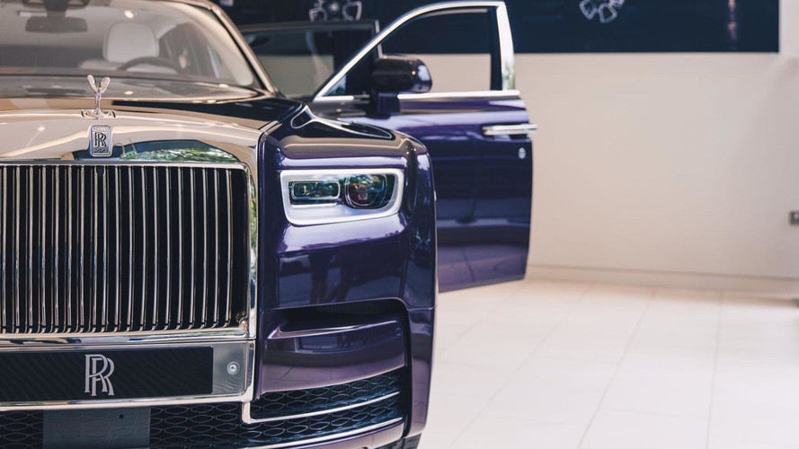 2018 Rolls-Royce Phantom goes on display