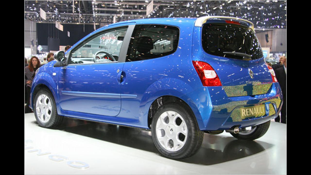 Erstmals zu sehen gab es 2007 in Genf die Serienversion von Renaults neuem Twingo