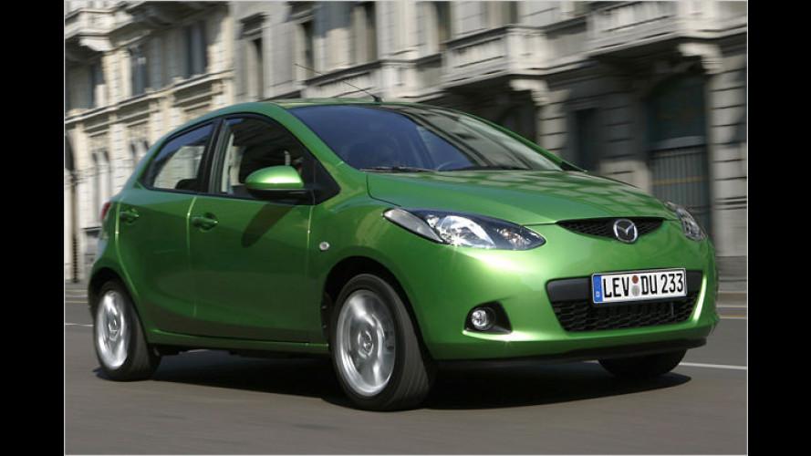 Preisanpassung bei einigen Mazda Modellen