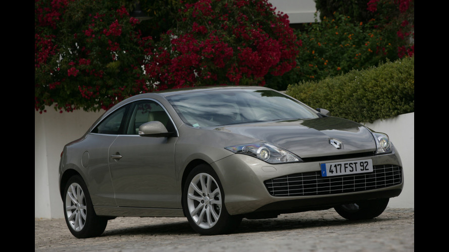 Renault Laguna model year 2010