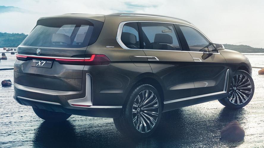 BMW Concept X7 iPerformance, quando il SUV esagera