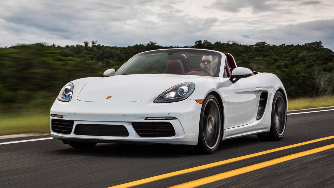 10. Porsche 718 Cayman / Boxster - 300 ch, 380 Nm