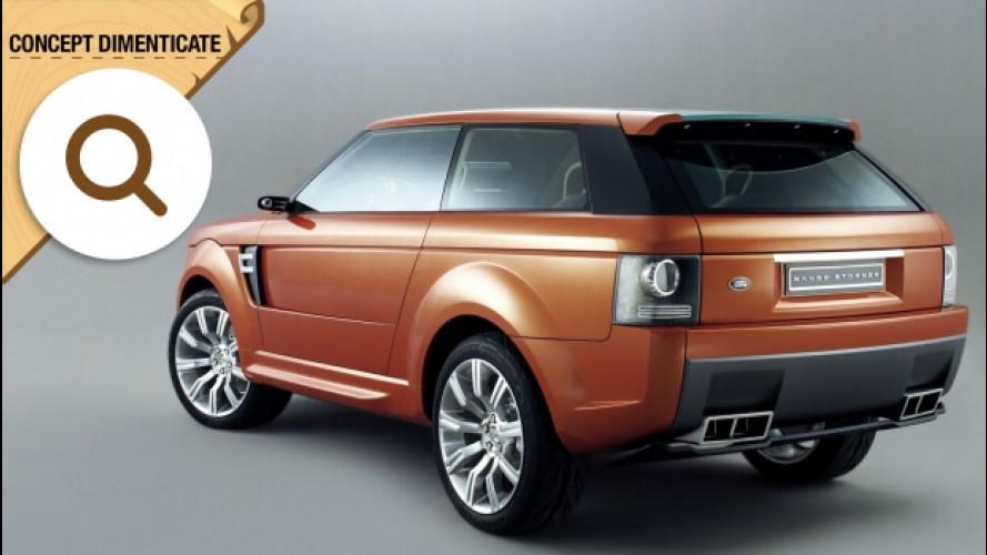 Land Rover Range Stormer, il SUV coupé mai nato