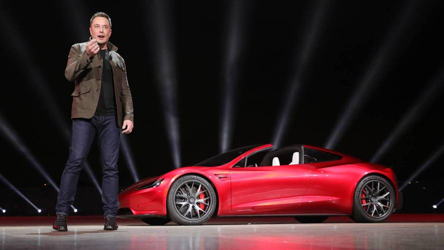 "New Tesla Roadster To Get ""Special Option Pack That Takes It To Next Level"""