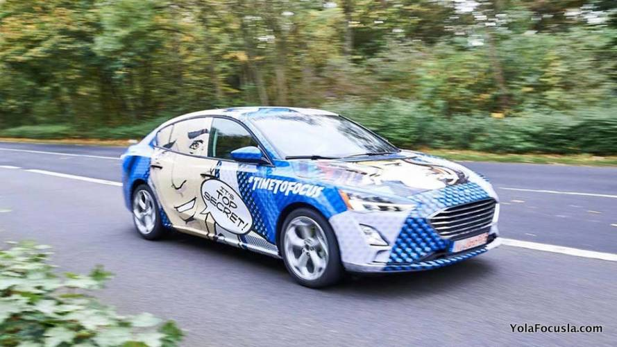 Flagra - Novo Ford Focus 2019 aparece