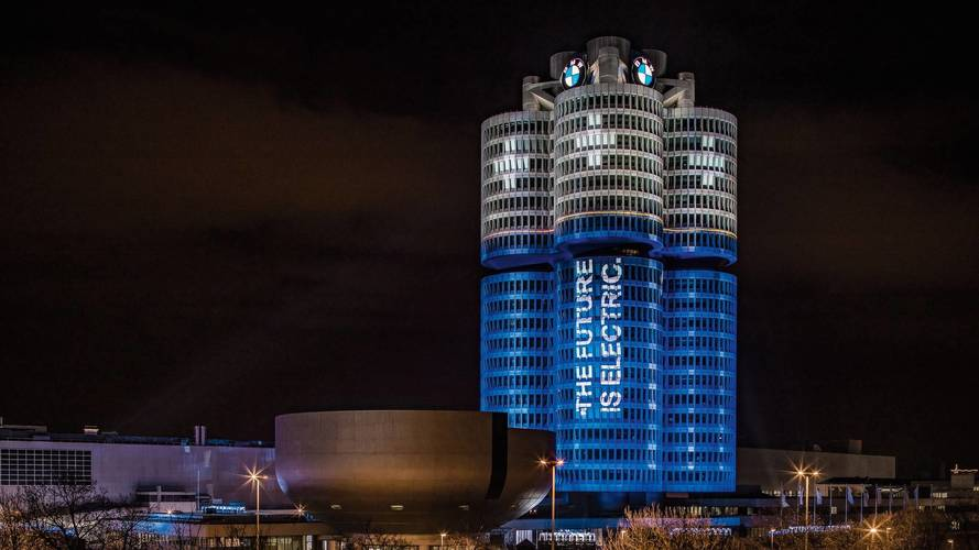 BMW electric cars hit 100000 sales target