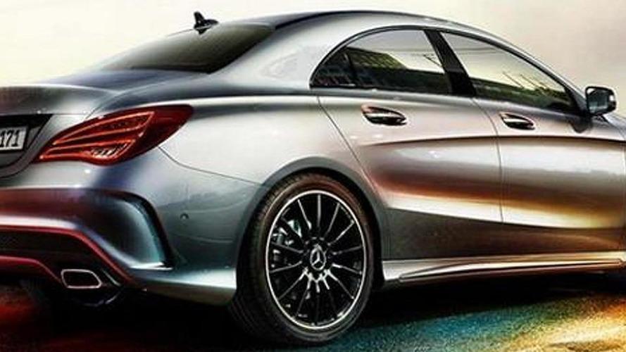 Mercedes-Benz CLA revealed ahead of Detroit debut