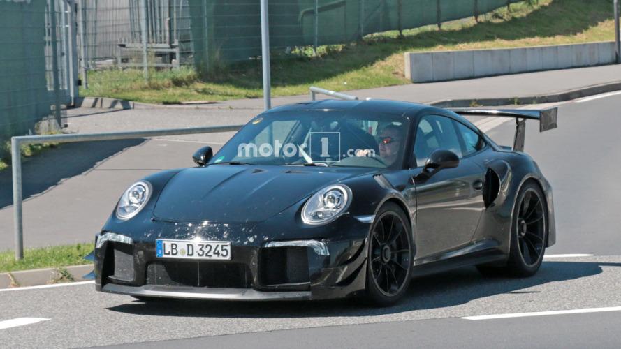 Porsche 911 GT2 RS Spy Shots