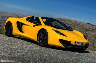 12 Cars of Christmas: McLaren MP4-12C Spider