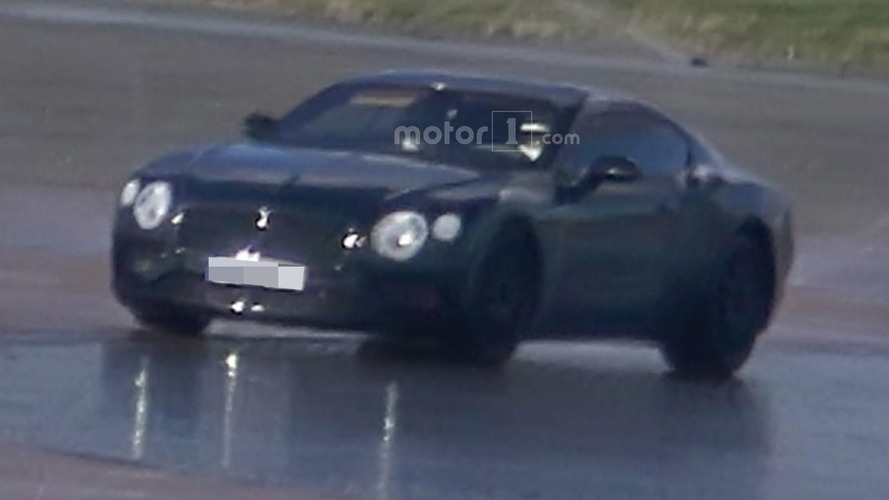 2018 Bentley Continental GT spied with sportier styling