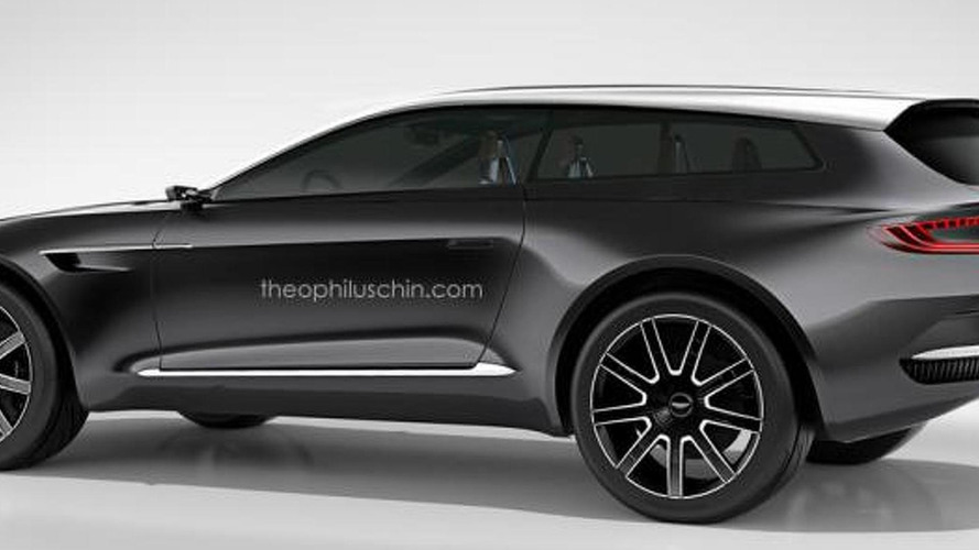 Aston Martin DBX Shooting Brake rendered