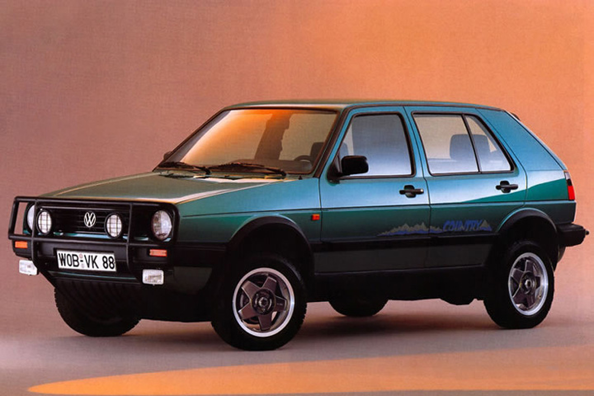 VW Golf Country Syncro Before Crossovers Were Cool - Cool cars 4x4