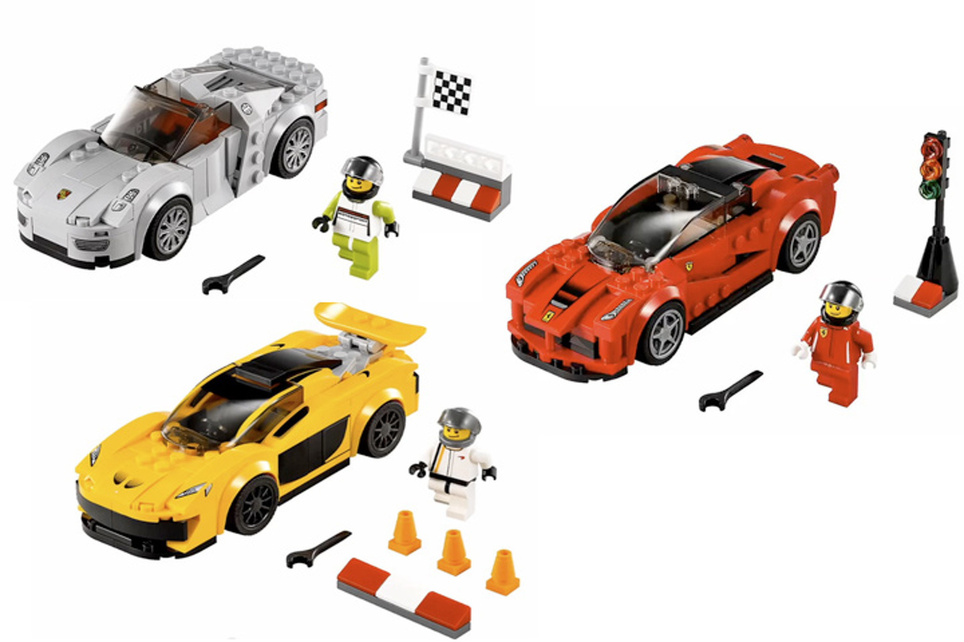 Porsche 918 Mclaren P1 And Laferrari Become Lego Sets