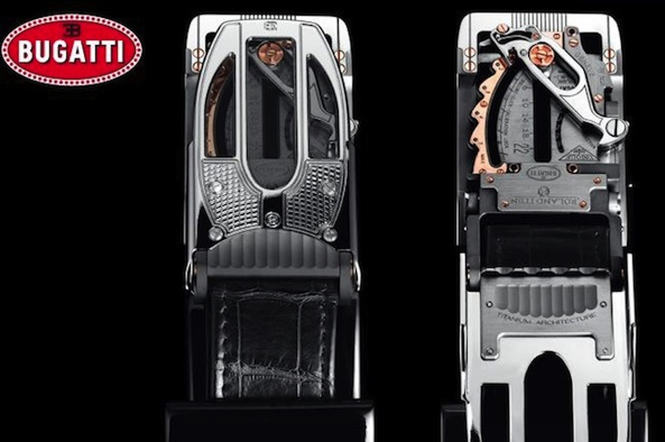 Bugatti Belt Buckle is $84,000 Worth of Stupid