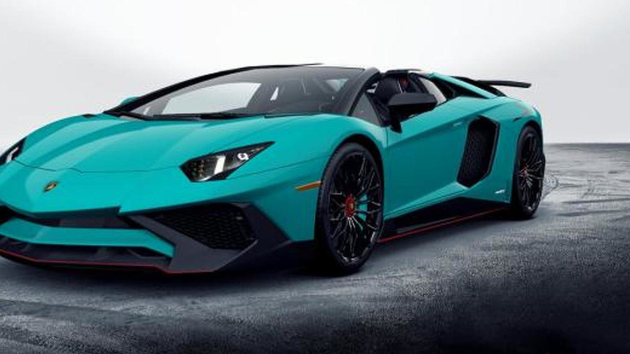 2017 Lamborghini Aventador LP 750-4 SuperVeloce Roadster revealed