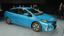 Toyota Prius Prime live at New York Auto Show 2016