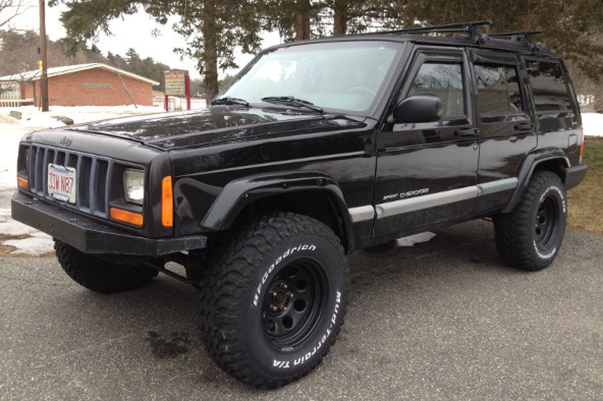 Showthread also Bill in addition 1998 JEEP GRAND CHEROKEE CUSTOM SUV 184207 additionally Project Xj as well 163 1007 Manual Transmission Trucks. on 1999 cherokee lifted