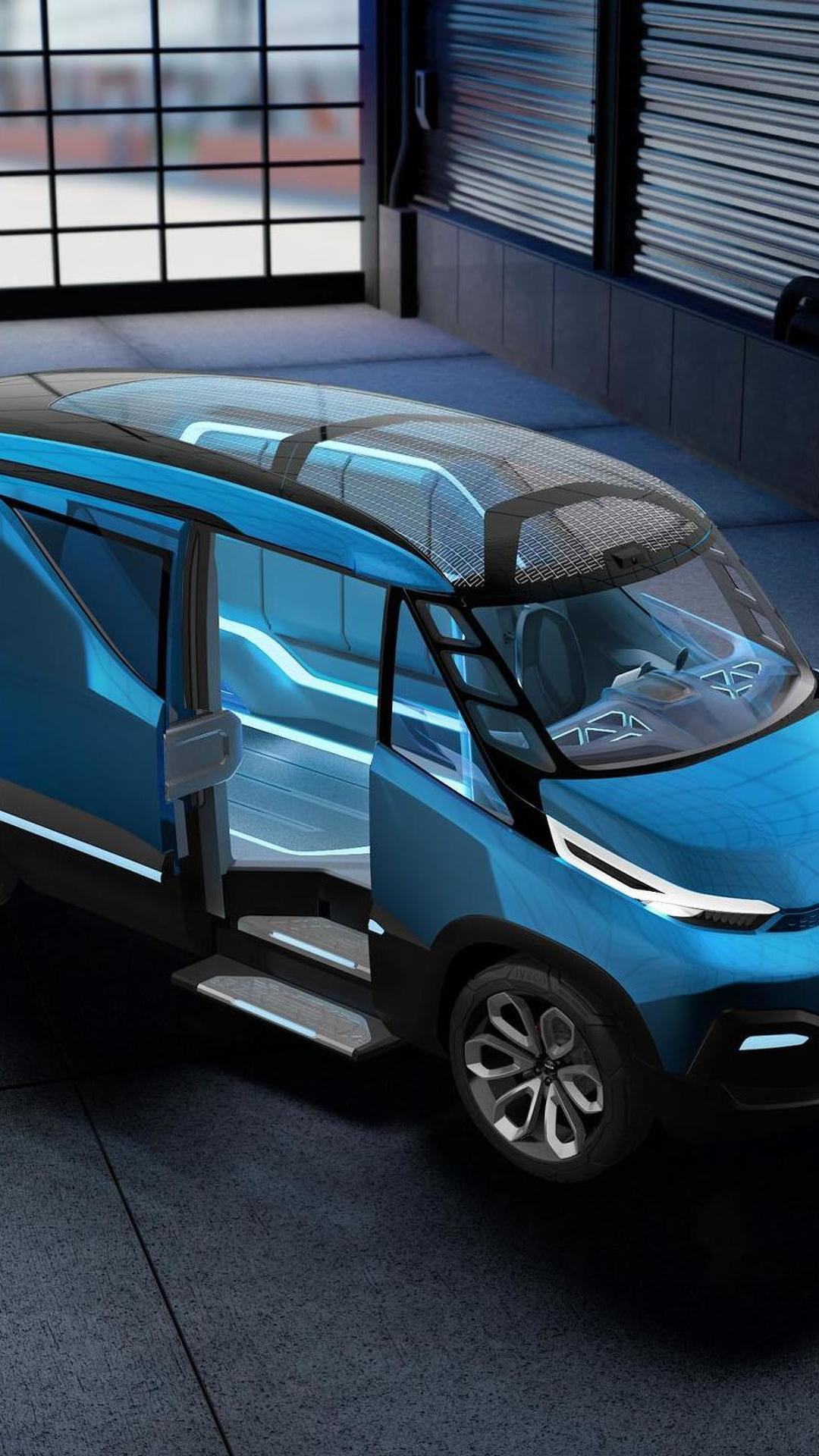 Новый фургон Iveco Vision