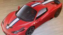 Ferrari 458 Spider Speciale leaked through configurator screenshots?