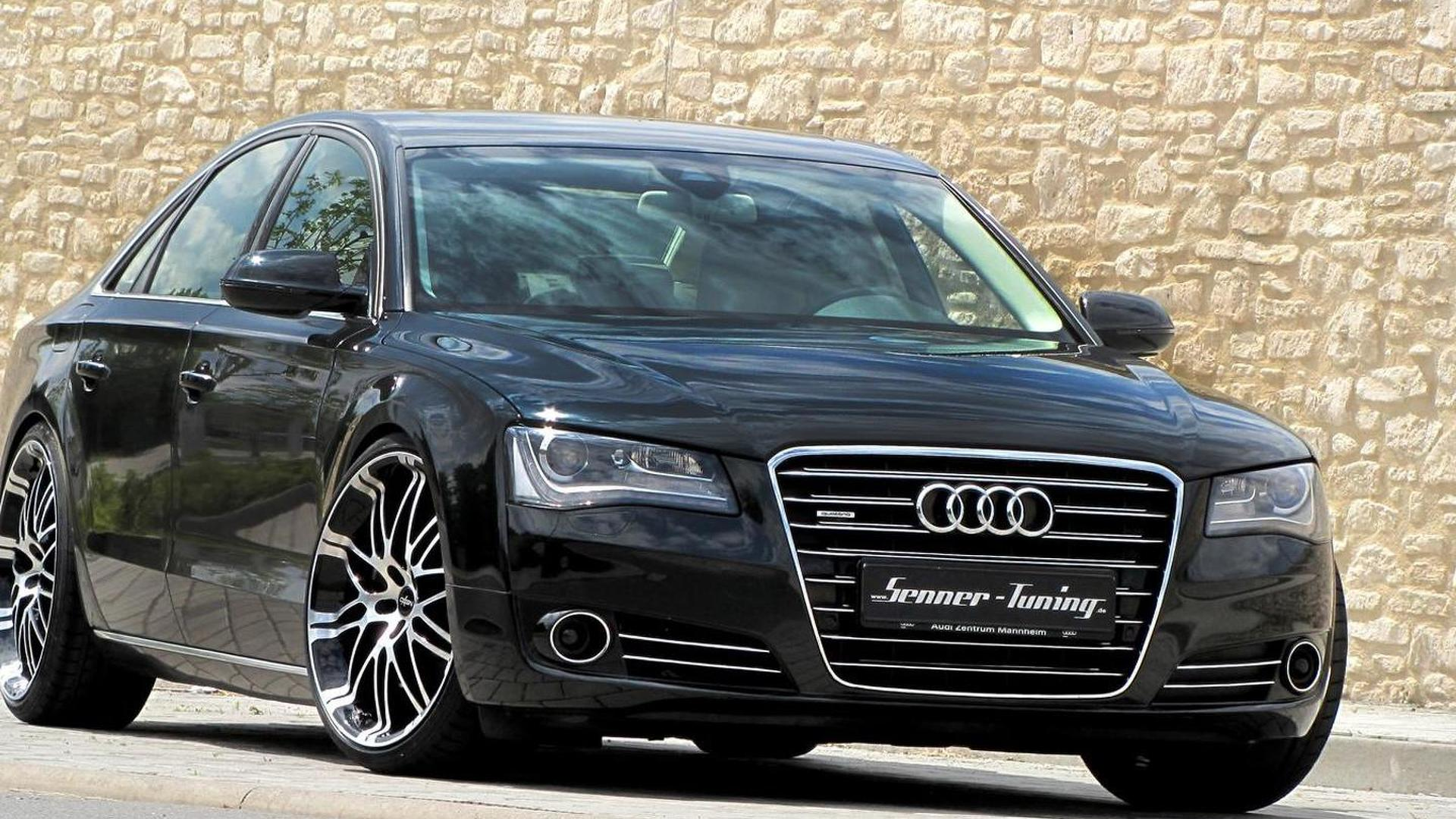 audi a8 4 2 v8 upgraded by senner tuning to 397 ps. Black Bedroom Furniture Sets. Home Design Ideas