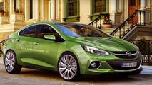 2016 Opel Ampera rendering / X-Tomi Design