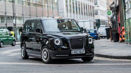 New electric black cab on final testing runs in London