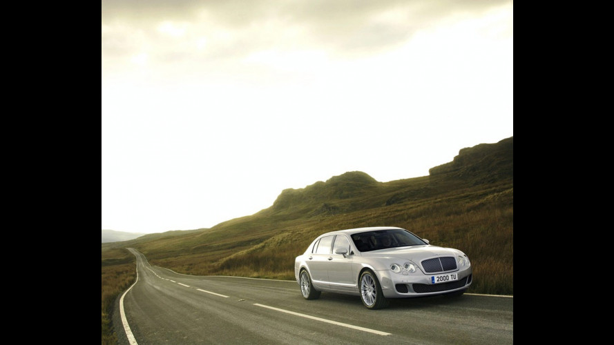 Bentley Continental Flying Spur restyling