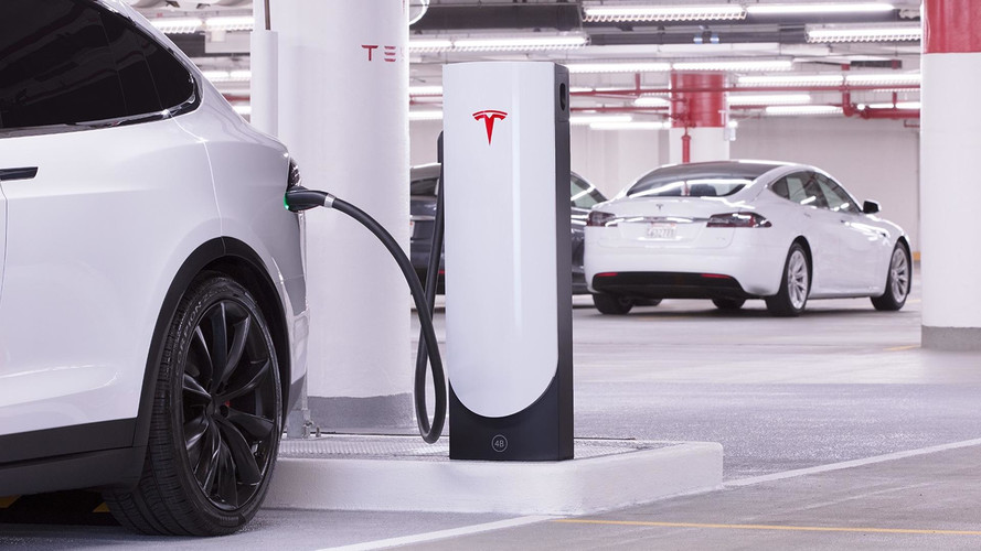 Tesla Compact Urban Supercharger Stations Designed For City Centers
