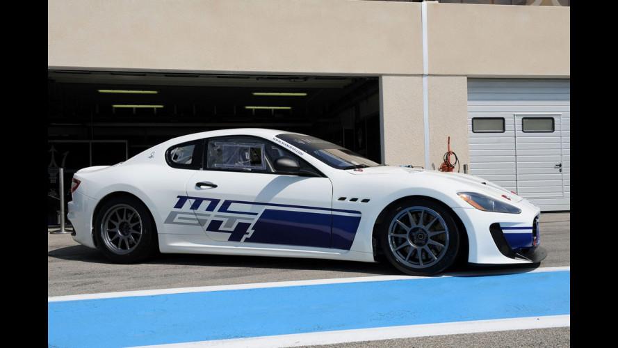 Al via il Trofeo Maserati GranTurismo MC