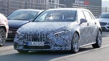 Mercedes-AMG A45 casus fotoğraflar