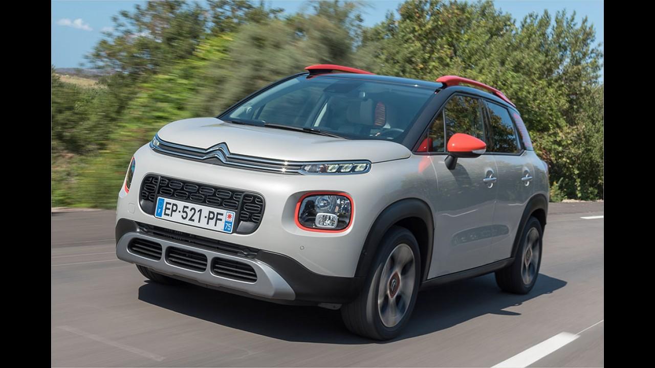 Kleines SUV Citroën C3 Aircross im Test