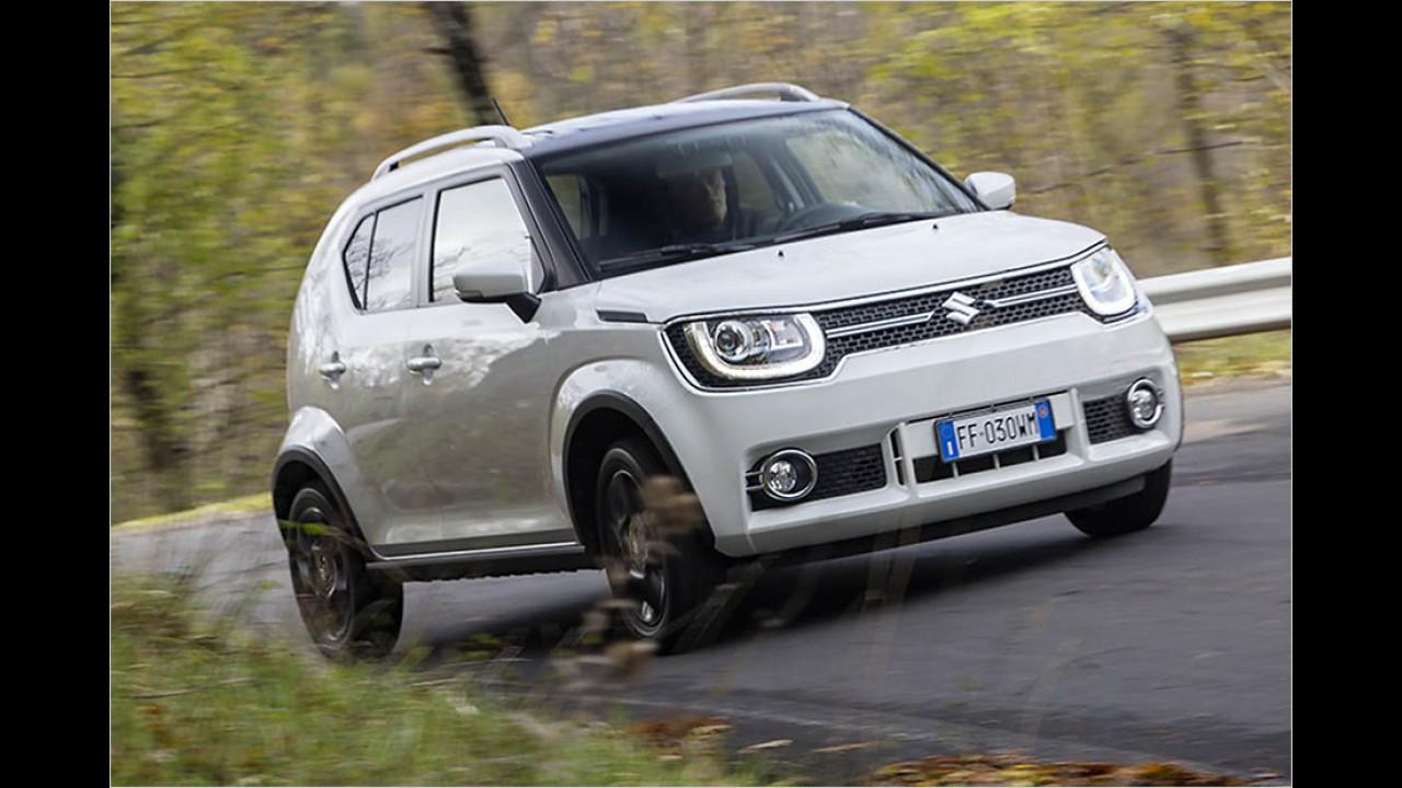 Suzuki Ignis (mit Sicherheitspaket): 16.440 Euro