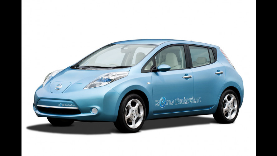 Nissan Leaf: prezzi europei intorno ai 30.000 euro