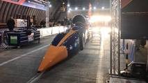 Bloodhound SSC live test pictures