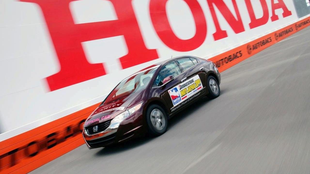 Honda FCX Clarity as 2008 IRL Indy Pace Car