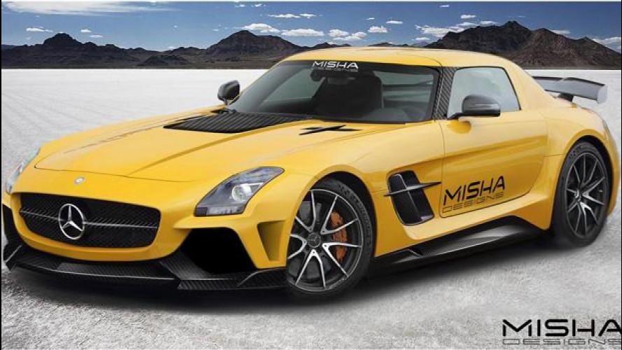 Mercedes SLS AMG, con Misha Design è un