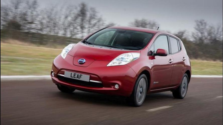 Nissan Leaf MY 2013, la prova dell'auto elettrica per antonomasia