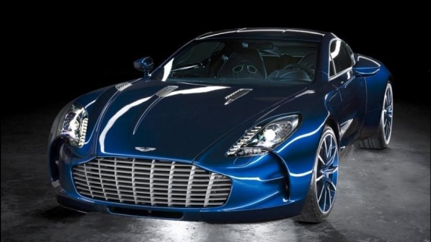 Aston Martin One-77, l'esemplare 66 è in vendita [VIDEO]