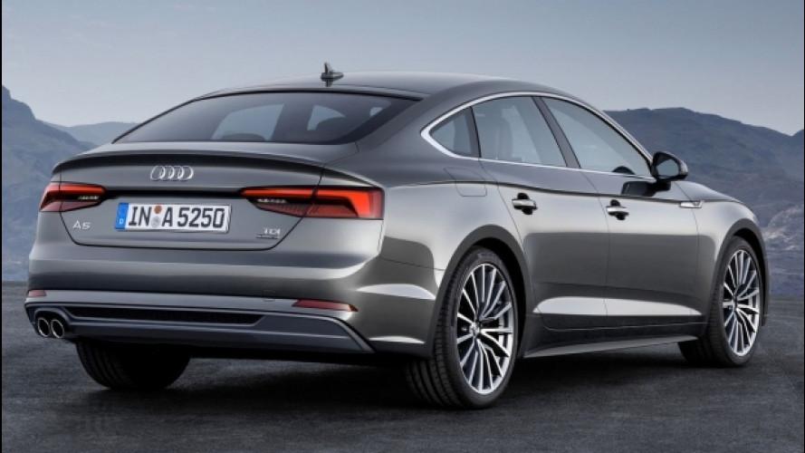Audi A5, nuovi motori per Coupé e Sportback
