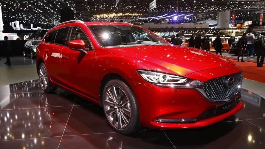 Mazda6 Euro Spec at the 2018 Geneva Motor Show