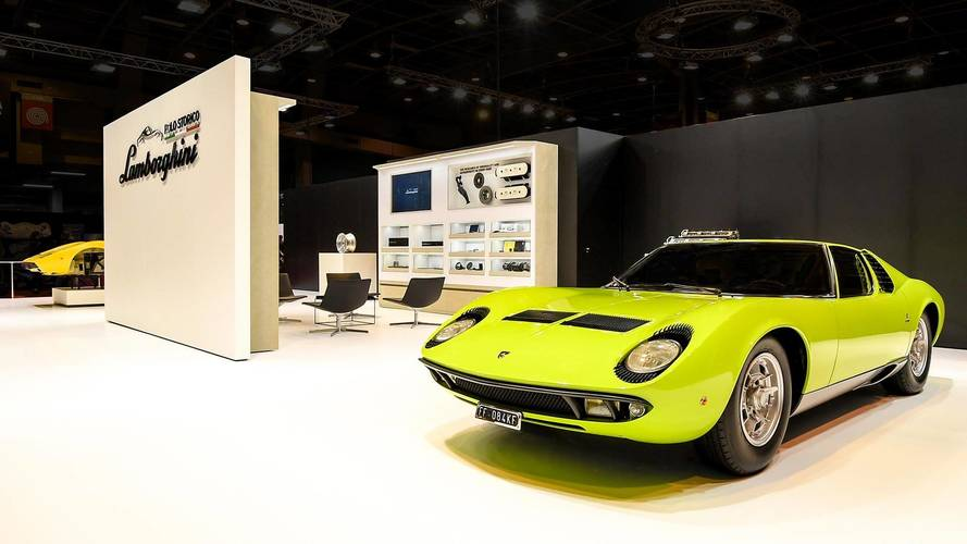 Lamborghini Highlights Miura And Countach Restorations In Paris