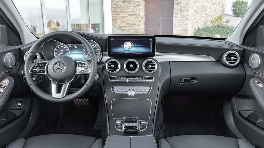 2019 Mercedes-Benz C-Class saloon and estate