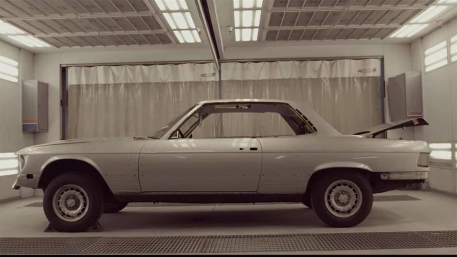 Clarion Builds Prepares Classic SLC Coupe For Restomod Revival