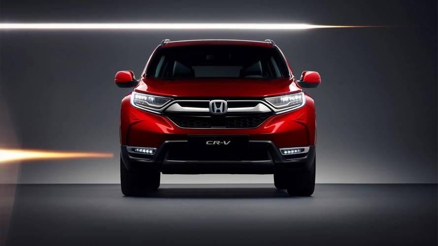 Honda CR-V revealed in European specification