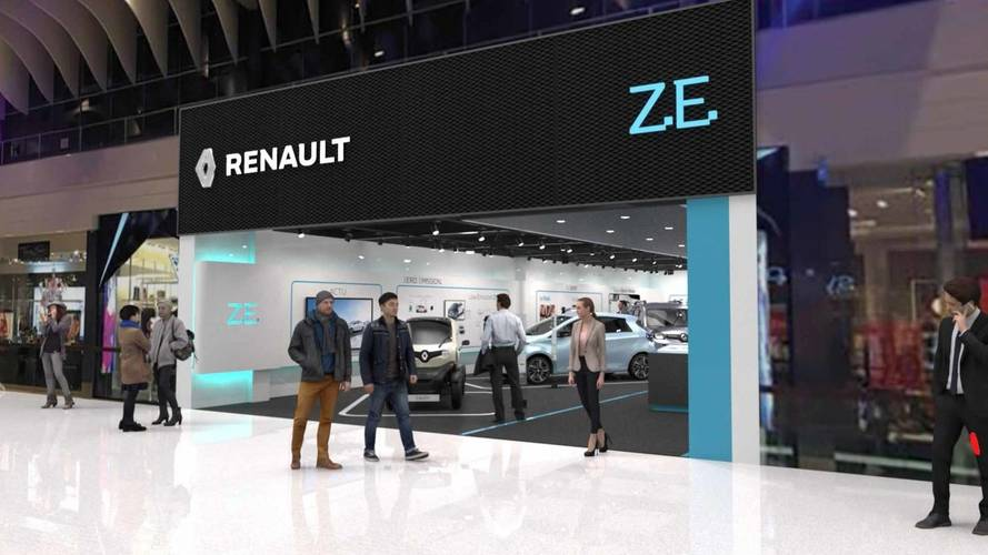 Renault to open dedicated EV store