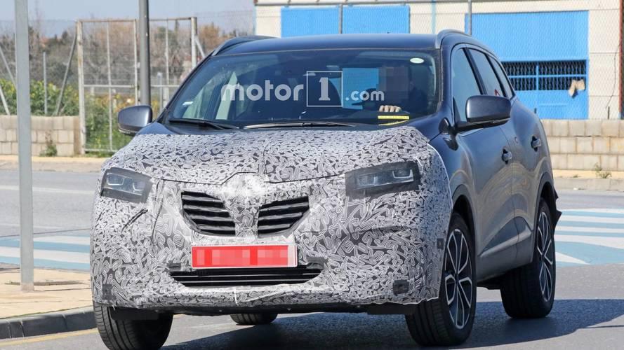 Renault Kadjar facelift spy photos