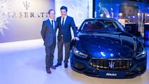 Jesus Romero y Enrique Lorenzana - Maserati Levante