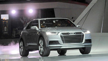 Audi Crosslane Coupe concept live in Paris 27.09.2012