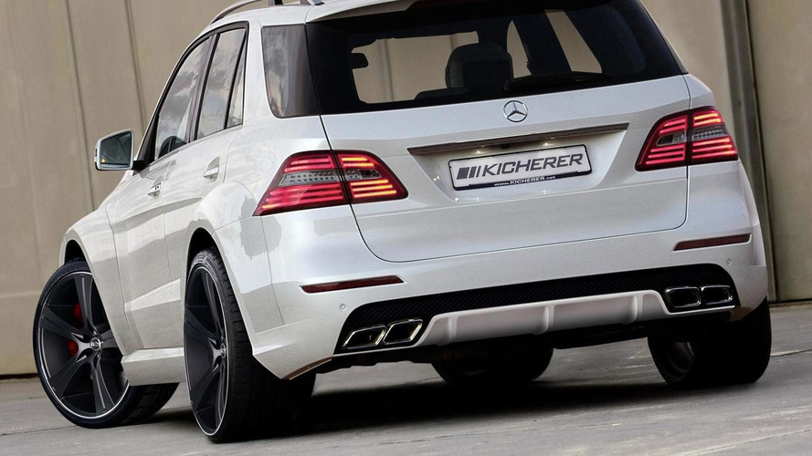 Kicherer introduces a new styling package for the Mercedes M-Class