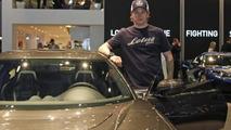 Lotus F1 Team edition Evora GTE with Kimi Raikkonen